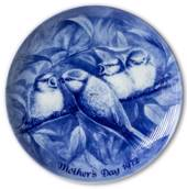 Berlin Design mother's day plate 1972 (Engelsk Text)