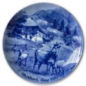 Berlin Design mother's day plate 1980 (English Text)