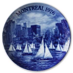 The Montreal Olympics 1976, Berlin Design plate | Year 1972 | No. XBDO1976 | DPH Trading
