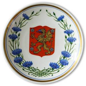 1964 Gefle Landscape plate, East Gotland | Year 1964 | No. XGV1964-O | DPH Trading