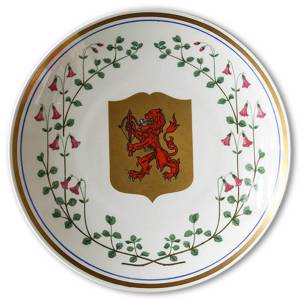 1968 Gefle Landscape plate, Smaaland | Year 1968 | No. XGV1968-S | DPH Trading