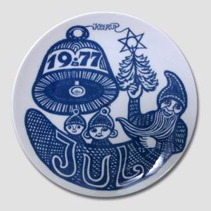 1977 Famous Danish Artists, Christmas plate | Year 1977 | No. XHX1977 | Alt. H770 | DPH Trading