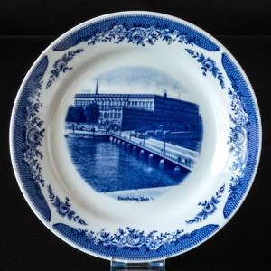 Castle plate with Stockholm Castle | Year 1972 | No. XKAS01 | Alt. xkas1972 | DPH Trading