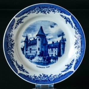 Castle plate with Trolleholm Castle