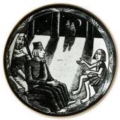 2003 Rørstrand plate in the series The ten commandments
