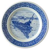 1974 Rorstrand Father's Day plate