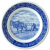 1976 Rorstrand Father's Day plate