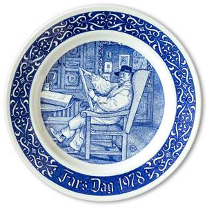 1978 Rorstrand Father's Day plate