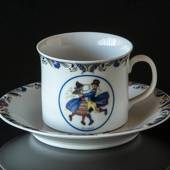 Swedish Regional Costumes Coffee Cup No. 2 Dalarna