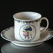 Swedish Regional Costumes Coffee Cup No. 6 Gästrikland
