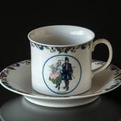 Swedish Regional Costumes Coffee Cup No. 7 Halland