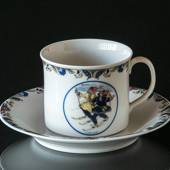 Swedish Regional Costumes Coffee Cup No. 10 Lappland