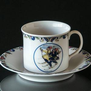 Swedish Regional Costumes Coffee Cup No. 10 Lappland | No. XRFK10 | DPH Trading