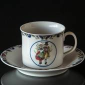 Swedish Regional Costumes Coffee Cup No. 15 Södermanland