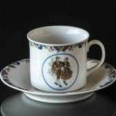 Swedish Regional Costumes Coffee Cup No. 17 Jämtland