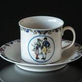 Swedish Regional Costumes Coffee Cup No. 21 Ångermanland