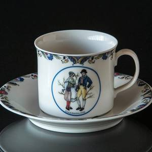 Swedish Regional Costumes Coffee Cup No. 21 Ångermanland | No. XRFK21 | DPH Trading