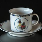 Swedish Regional Costumes Coffee Cup No. 23 Blekinge