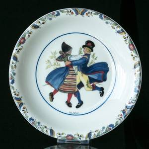 Swedish Regional Costumes Side Dish No. 2 Dalarna | No. XRFS02 | DPH Trading