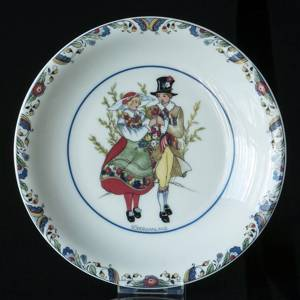 Swedish Regional Costumes Side Dish No. 15 Södermanland | No. XRFS15 | DPH Trading