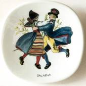 Mini Plate,Swedish Regional Costumes No. 2 Dalarna