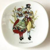 Mini Plate, Swedish Regional Costumes No. 15 Södermanland