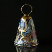 1982 Rorstrand Poetry Christmas Bell, Shepherds in Bethlehem