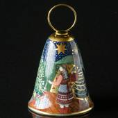 1985 Rorstrand Poetry Christmas Bell, A star shines down