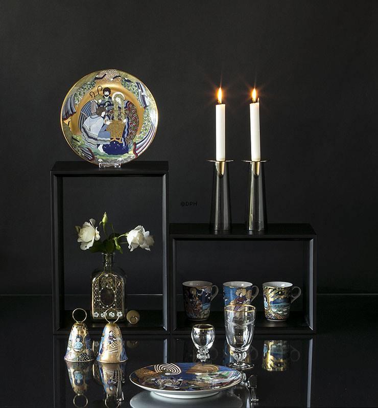 Klokker porcelæn, keramik, glas og krystal