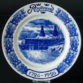 Rorstrand commemorative plate 1726-1926