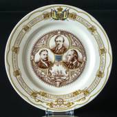 Rorstrand Plate Centenial of the Vega Expedition 1880-1890