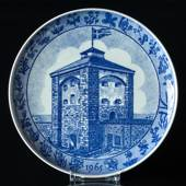 Rorstrand Christmas plate 1966 Nya Älvsborg castle - Gothenburg by Anders B...