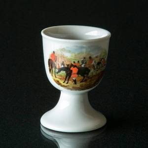Strömgarden egg cup with rider saddle up/off | No. XSAG27 | DPH Trading