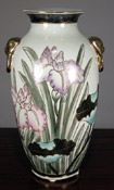 Chinese vase with flowers