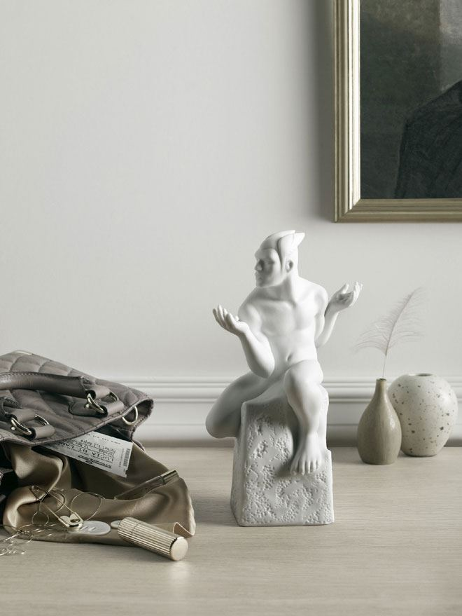 Zodiac Figurines Royal Copenhagen Christel