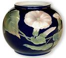 Royal Copenhagen vase 12978 with flower