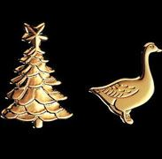 Georg Jensen Christmas Tree candleholders - Christmastree and Goose