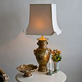 Lamp Shades Oblong Pagoda Shape
