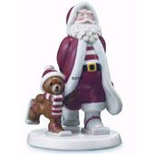 Royal Copenhagen Annual Father Christmas Figurines