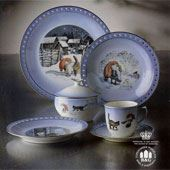 Bing & Grondahl Christmas Coffee Set designed by Harald Wiberg - WSave up to 65 %