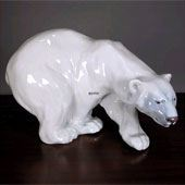 Bear Figurines produced by Royal Copenhagen and Bing & Grondahl