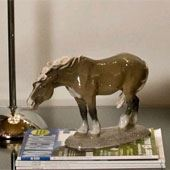 Horse Figurines produced by Royal Copenhagen and Bing & Grondahl
