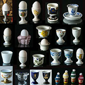 Egg Cups Many Different Colours and Patterns - The largest selection in Scandinavia