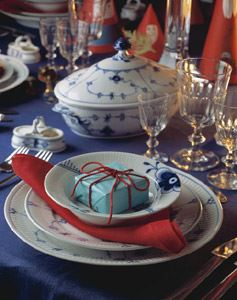 Tableware - Blue Fluted Royal Copenhagen