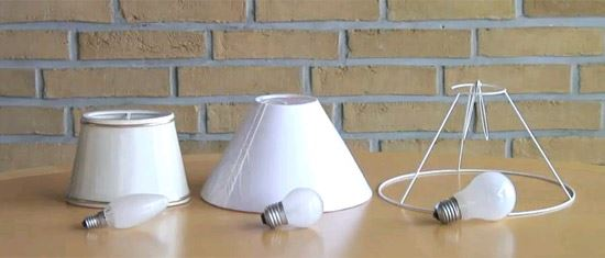 Lampshade and Lampshade Stand
