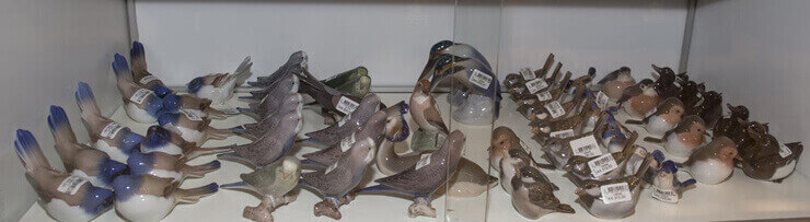 Bird figurines Royal Copenhagen Bing & Grondahl B&G