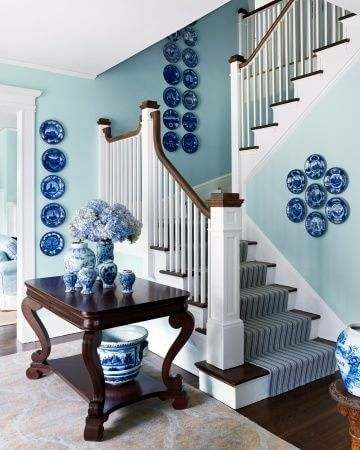 Decorate your home with Old Danish Blue Plates