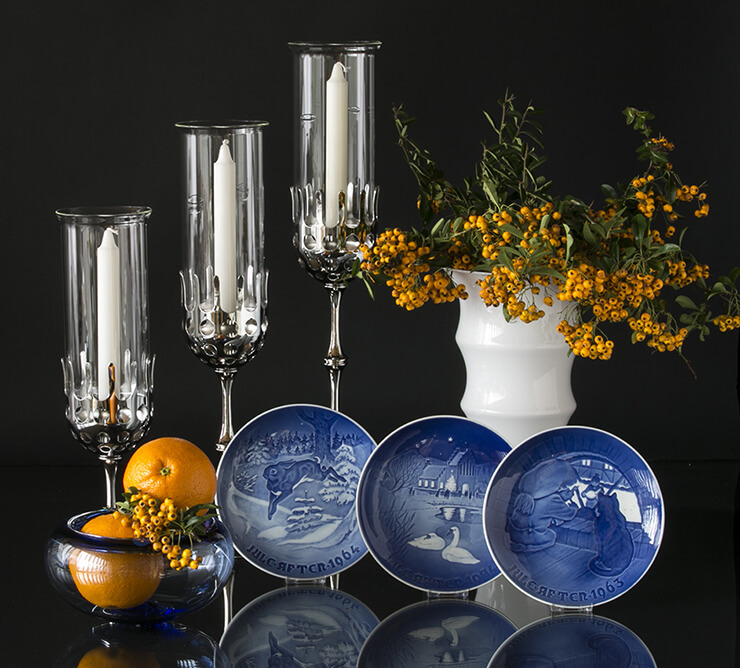 Cheap Bing & Grondahl Plates - beautiful decorations