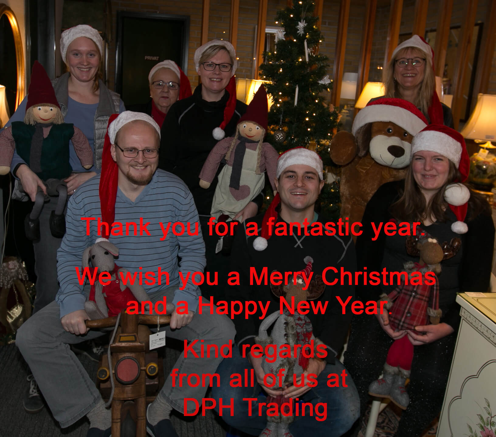 Christmas Greetings from os all at DPH Trading