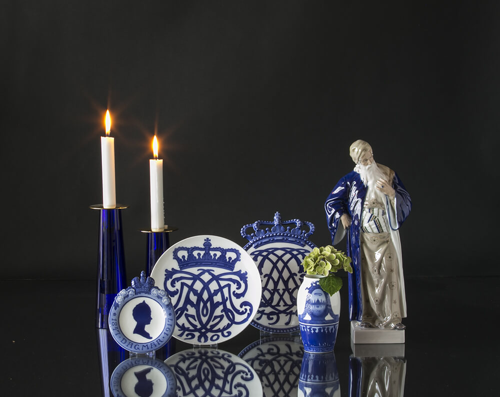 Royal Copenhagen Vases in porcelain
